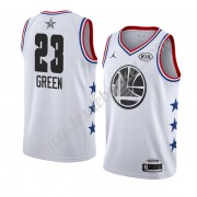 Maillot NBA Pas Cher Golden State Warriors 2019 Draymond Green 23# Blanc All Star Game Swingman..