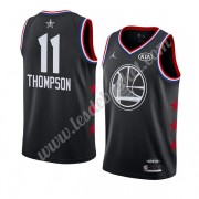 Maillot NBA Pas Cher Golden State Warriors 2019 Klay Thompson 11# Noir All Star Game Swingman..