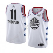 Maillot NBA Pas Cher Golden State Warriors 2019 Klay Thompson 11# Blanc All Star Game Swingman..