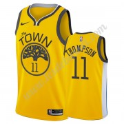 Maillot NBA Golden State Warriors 2019-20 Klay Thompson 11# Or Earned Edition Swingman..