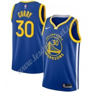 Maillot NBA Golden State Warriors 2019-20 Stephen Curry 30# Bleu Icon Edition Swingman..