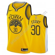 Maillot NBA Golden State Warriors 2019-20 Stephen Curry 30# Or Earned Edition Swingman..