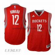 Maillot Basket Enfant Houston Rockets 2015-16 Dwight Howard 12# Road..