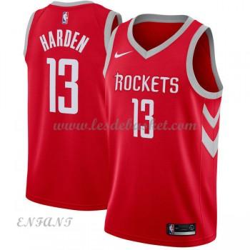 Maillot Basket Enfant Houston Rockets 2018 James Harden 13# Icon Edition