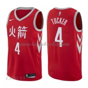 Maillot Basket Enfant Houston Rockets 2018 P.J. Tucker 2# City Edition..