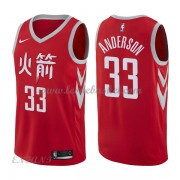 Maillot Basket Enfant Houston Rockets 2018 Ryan Anderson 33# City Edition..