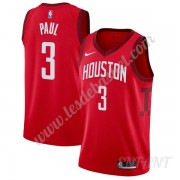 Maillot De Basket Enfant Houston Rockets 2019-20 Chris Paul 3# Rouge Earned Edition Swingman..