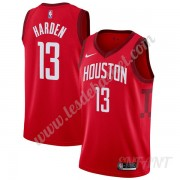 Maillot De Basket Enfant Houston Rockets 2019-20 James Harden 13# Rouge Earned Edition Swingman..