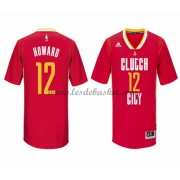 Maillot NBA Houston Rockets 2015-16 Dwight Howard 12# Pride..