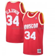 Maillot NBA Houston Rockets 1993-94 Hakeem Olajuwon 34# Red Hardwood Classics..