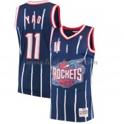 Maillot NBA Houston Rockets 2002-03 Yao Ming 11# Navy Hardwood Classics..