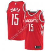 Maillot NBA Houston Rockets 2019-20 Clint Capela 15# Rouge Icon Edition Swingman..