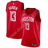Maillot NBA Houston Rockets 2019-20 James Harden 13# Rouge Earned Edition Swingman