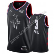 Maillot NBA Pas Cher Houston Rockets 2019 Chris Paul 3# Noir All Star Game Swingman..