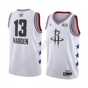Maillot NBA Pas Cher Houston Rockets 2019 James Harden 13# Blanc All Star Game Swingman..