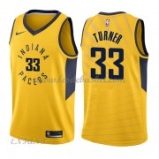 Maillot Basket Enfant Indiana Pacers 2018 Myles Turner 33# Statement Edition..