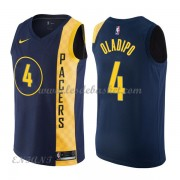Maillot Basket Enfant Indiana Pacers 2018 Victor Oladipo 4# City Edition..