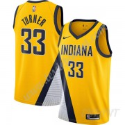 Maillot De Basket Enfant Indiana Pacers 2019-20 Myles Turner 33# Or Finished Statement Edition Swing..