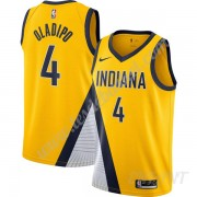 Maillot De Basket Enfant Indiana Pacers 2019-20 Victor Oladipo 4# Or Finished Statement Edition Swin..