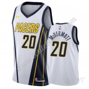 Maillot De Basket Enfant Indiana Pacers 2019-20 Doug McDermott 20# Blanc Earned Edition Swingman..
