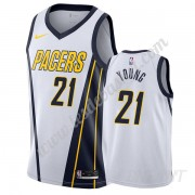 Maillot De Basket Enfant Indiana Pacers 2019-20 Thaddeus Young 21# Blanc Earned Edition Swingman..