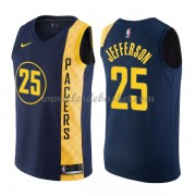 Maillot NBA Indiana Pacers 2018 Al Jefferson 25# City Edition..