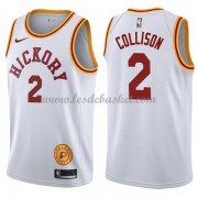 Maillot NBA Indiana Pacers 2018 Darren Collison 2# White Hardwood Classics..