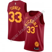 Maillot NBA Indiana Pacers 2019-20 Myles Turner 33# Rouge Hardwood Classics Swingman..