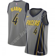 Maillot NBA Indiana Pacers 2019-20 Victor Oladipo 4# Gris City Edition Swingman..