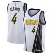 Maillot NBA Indiana Pacers 2019-20 Victor Oladipo 4# Blanc Earned Edition Swingman..