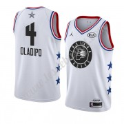 Maillot NBA Pas Cher Indiana Pacers 2019 Victor Oladipo 4# Blanc All Star Game Swingman..