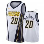 Maillot NBA Indiana Pacers 2019-20 Doug McDermott 20# Blanc Earned Edition Swingman..