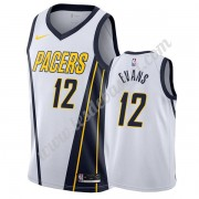Maillot NBA Indiana Pacers 2019-20 Tyreke Evans 12# Blanc Earned Edition Swingman..