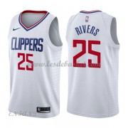 Maillot Basket Enfant Los Angeles Clippers 2018 Austin Rivers 25# Association Edition..