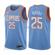 Maillot Basket Enfant Los Angeles Clippers 2018 Austin Rivers 25# City Edition..