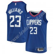 Maillot De Basket Enfant Los Angeles Clippers 2019-20 Lou Williams 23# Bleu Icon Edition Swingman..