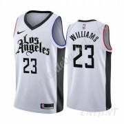 Maillot De Basket Enfant Los Angeles Clippers 2019-20 Lou Williams 23# Blanc City Edition Swingman..