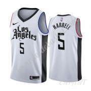 Maillot De Basket Enfant Los Angeles Clippers 2019-20 Montrezl Harrell 5# Blanc City Edition Swingma..