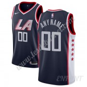 Maillot De Basket Enfant Los Angeles Clippers 2019-20 Bleu Marine City Edition Swingman..