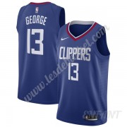 Maillot De Basket Enfant Los Angeles Clippers 2019-20 Paul George 13# Bleu Icon Edition Swingman..