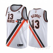 Maillot De Basket Enfant Los Angeles Clippers 2019-20 Paul George 13# Blanc Classics Edition Swingma..