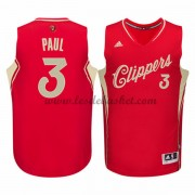 Maillot NBA Pas Cher Los Angeles Clippers Homme 2015 Chris Paul 3# Noël Basket..