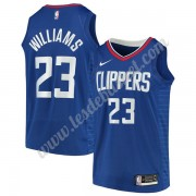 Maillot NBA Los Angeles Clippers 2019-20 Lou Williams 23# Bleu Icon Edition Swingman..