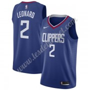 Maillot NBA Los Angeles Clippers 2019-20 Kawhi Leonard 2# Bleu Icon Edition Swingman..