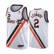 Maillot NBA Los Angeles Clippers 2019-20 Kawhi Leonard 2# Blanc Classics Edition Swingman..