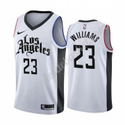 Maillot NBA Los Angeles Clippers 2019-20 Lou Williams 23# Blanc City Edition Swingman..
