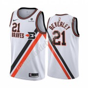 Maillot NBA Los Angeles Clippers 2019-20 Patrick Beverley 21# Blanc Classics Edition Swingman..