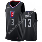 Maillot NBA Los Angeles Clippers 2019-20 Paul George 13# Noir Statement Edition Swingman..