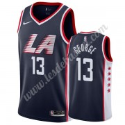 Maillot NBA Los Angeles Clippers 2019-20 Paul George 13# Bleu Marine City Edition Swingman..