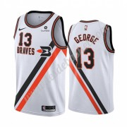 Maillot NBA Los Angeles Clippers 2019-20 Paul George 13# Blanc Classics Edition Swingman..